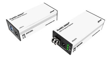 Repetidor USB 3.0 con capacidad de transporte de señal de datos y alimentación