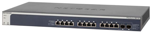 Switch 10GBase-T gestionado de 28 puertos