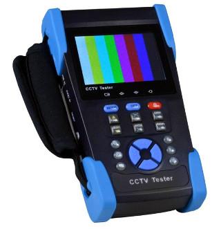 Tester de circuitos cerrados de TV y conexiones de red