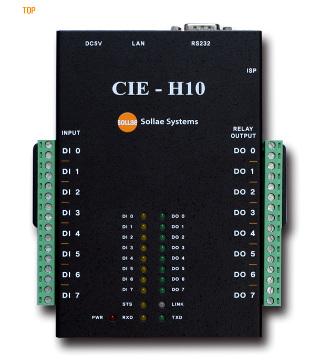 Controladores Data IO a Ethernet TCP/IP