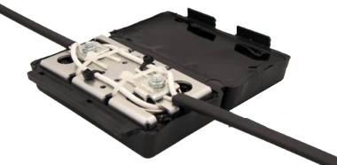Kit de empalme de fibra óptica con gel