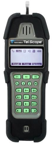 Analizador de líneas de telecomunicaciones