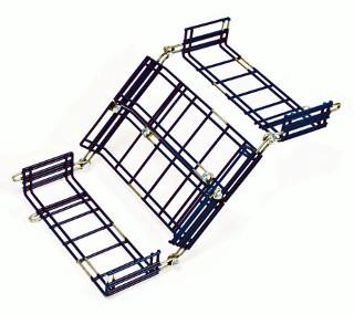 Bandejas de rejilla para instalaciones de cable