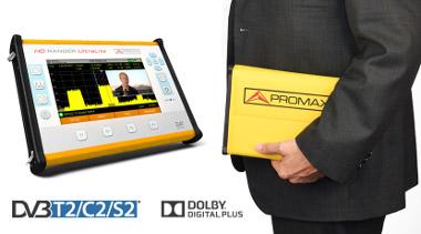 Medidor de campo con formato Tablet