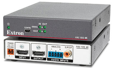 Audio embedder con soporte 4K