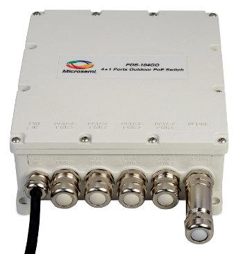 Switch PoE para despliegues exteriores