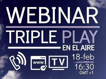 Webminar sobre Triple Play