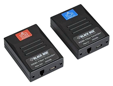 Extensor de vídeo 4K sobre fibra óptica