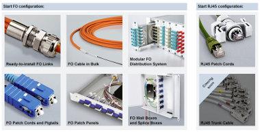 configurador de cables de fibra óptica