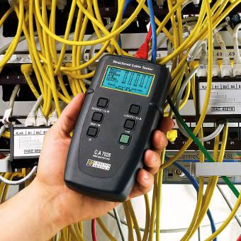 comprobador de cables y cableado LAN