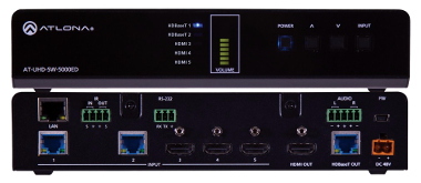 Switch UHD HDMI y HDBaseT