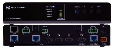 Switch UHD HDMI y HDBaseT