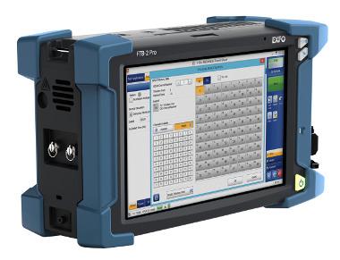 Módulo de testeo multicanal OTN a 100G