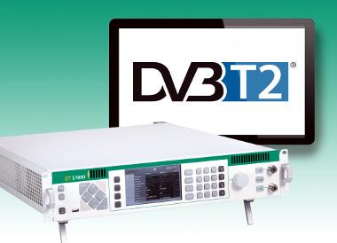 Generador de señal con soporte DVB-T2
