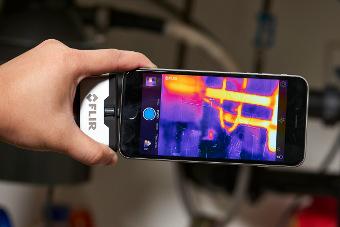 Cámaras de imagen térmica para Smartphones