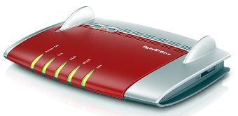 Router WiFi DSL de alta velocidad