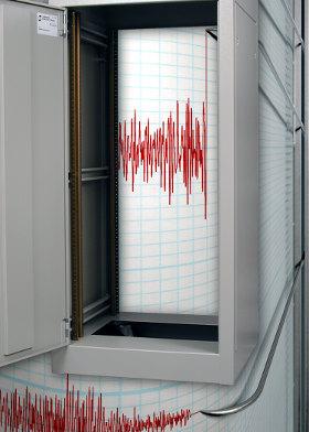 Armario rack para ambientes sísmicos extremos