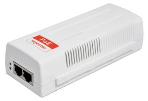 Inyectores PoE con estándares 802.3af/at/at+