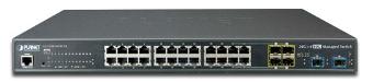 Switches gestionados para cable o fibra