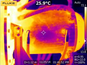 Cámara termográfica con funciones de vanguardia