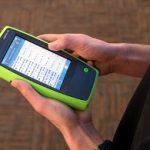 Analizador de recepción Wi-Fi