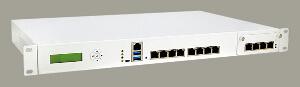 Sistema de red para montaje en rack 1U