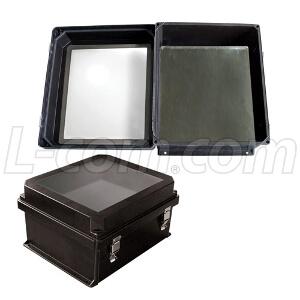 armarios NEMA con frontal transparente
