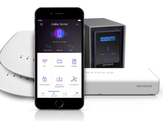 app para administración remota de redes