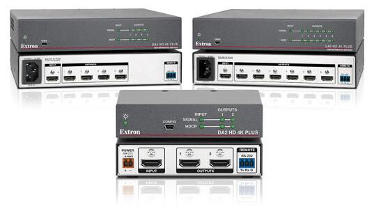 Amplificadores de distribución de vídeo