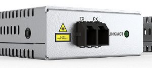 Convertidores de USB-C a fibra óptica