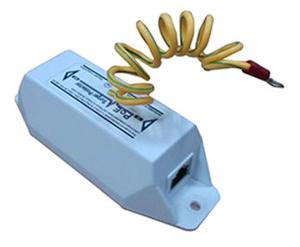 Protector de sobretensiones compatible PoE