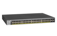 Switches gestionados Gigabit con PoE+