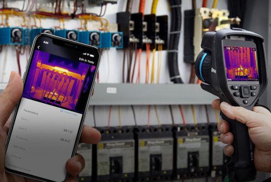 app de inspección térmica