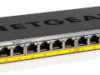 Switches no gestionados con PoE flexible