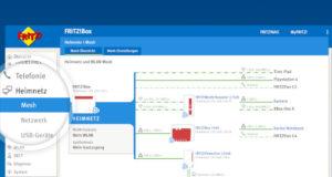 FRITZ!OS 7 con mejoras en Mesh, telefonía y domótica