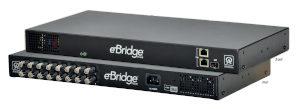 Switch Ethernet PoE coaxial de dieciséis puertos