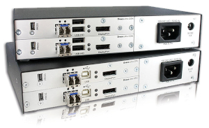 Extensor KVM DisplayPort 4K multidisplay