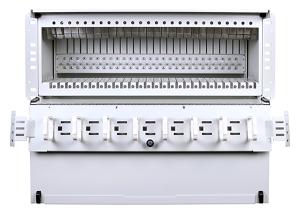 Panel de alta densidad con soporte WDM