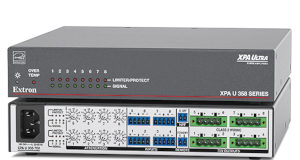 Amplificadores de potencia para sistemas audiovisuales