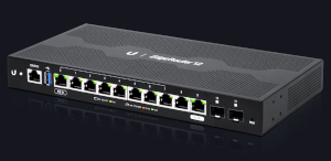 Router de 12 puertos para cobre y fibra