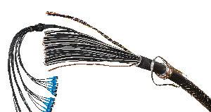 Cableado híbrido para estaciones base