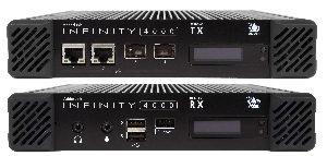 KVM 4K IP sobre fibra óptica