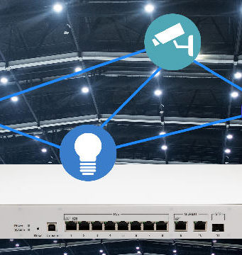 Switch IEEE 802.3bt Power over Ethernet