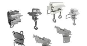 Fijadores de distribución para cables