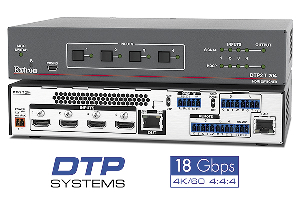 Switcher HDCP 2.2 4:4:4 4K/60 de cuatro entradas HDMI