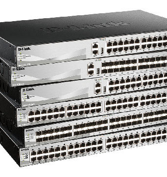 Switches apilables y gestionados L3