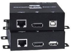 Extensor KVM 4K sobre HDBase-T con RS232
