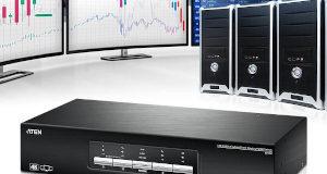 Switch KVM de triple display