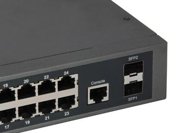Switch WebSmart PoE de última generación