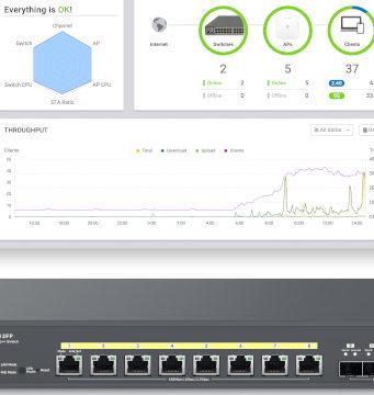 Switches Multi-Gigabit con PoE++